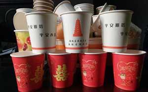 武汉一次性广告纸杯