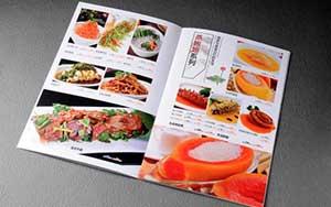武汉菜谱印刷